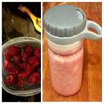 Raw Mess Banaspberry Smoothie