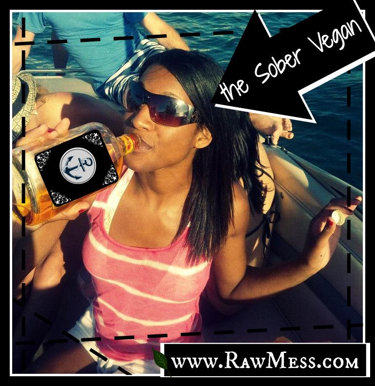Raw Mess the Sober Vegan Thumbnail