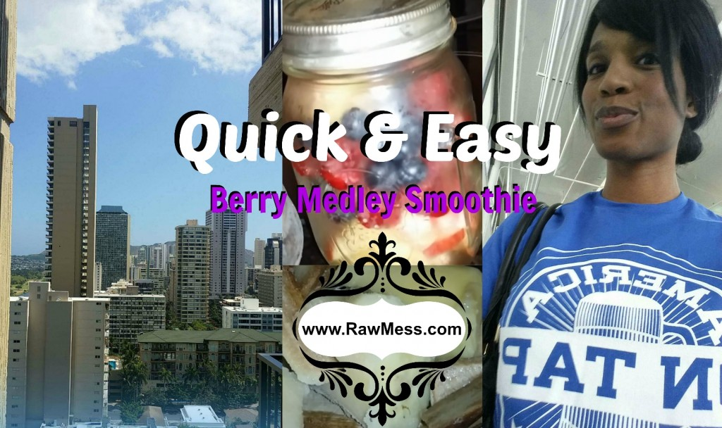 Quick and Easy Berry Medley Smoothie thumbnail