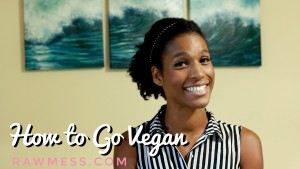 How to Go Vegan Raw Mess