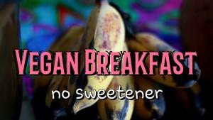 No Sugar Breakfast Raw Mess