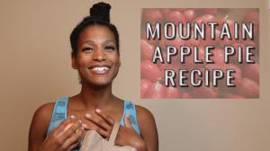 Mountain Apple Pie Raw Mess